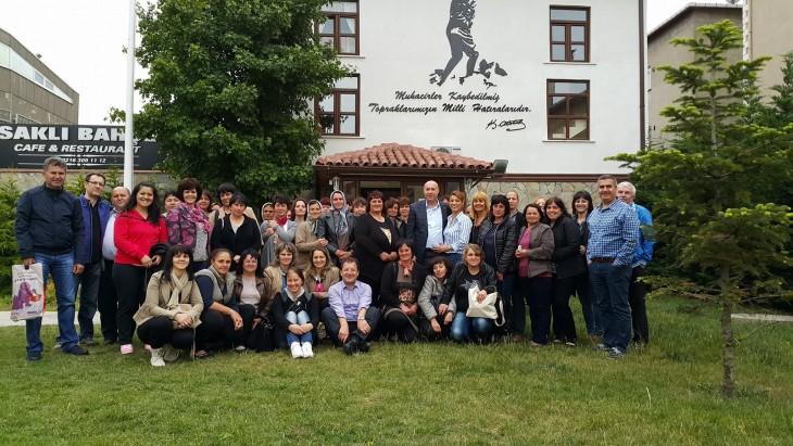 Bulgaristan Eğridere'den (Ardino) gelen misafirlerimizi Dernek Merkezimizde ağırladık